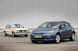 Opel Astra and OSV40 concept