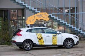 Volvo Design Rides tijdens de Dutch Design Week