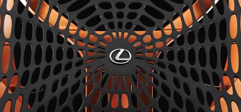 Wereldpremière Lexus Kinetic Seat Concept in Parijs