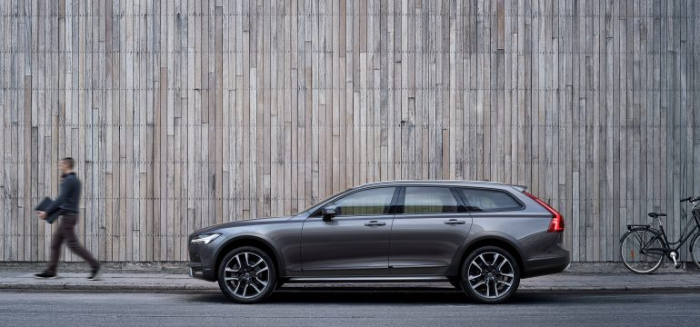 Volvo onthult V90 Cross Country