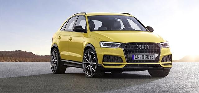 Audi Q3 premium SUV verder aangescherpt