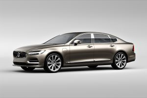 Volvo S90 Excellence exterior front 3/4